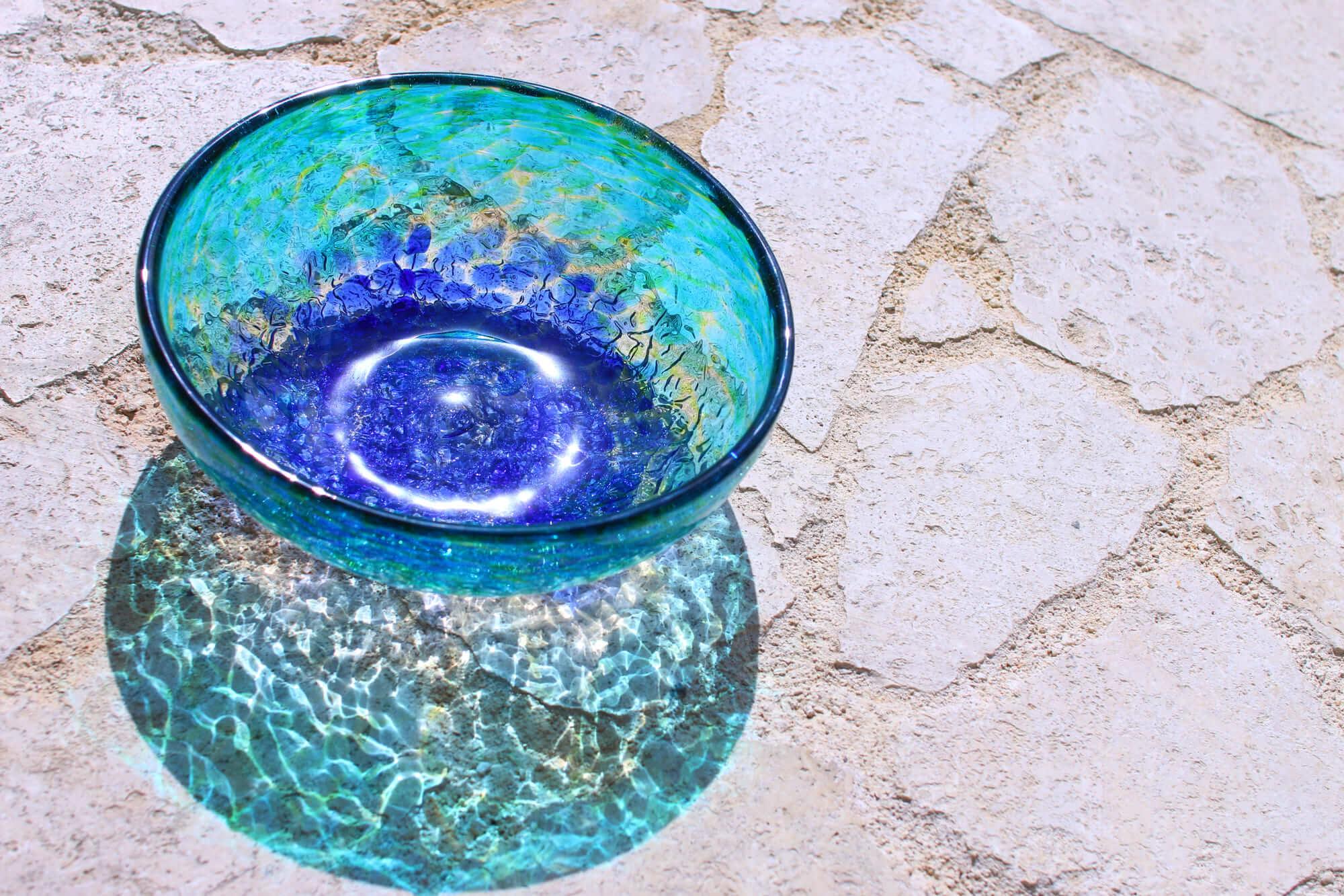 源河源吉 琉球ガラス